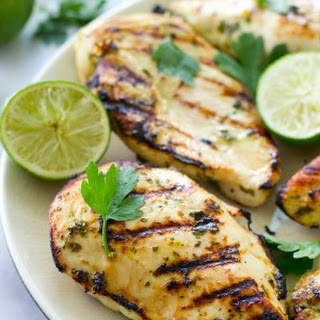 Cilantro-Lime Marinated Grilled Chicken