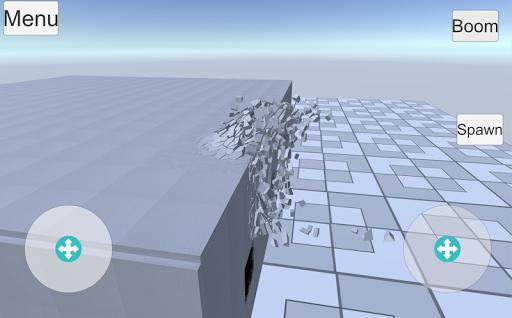 Destruction physics  trampa 4