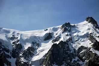 Photo: Aiguille du Midi y arista Foto Ch
