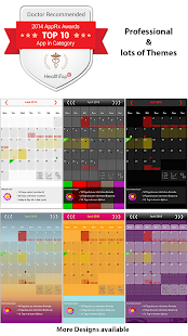 MyDays X Pro - Period Tracker & Ovulation Calendar- screenshot thumbnail