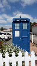 Photo: The Tardis in Hall in Winalaria