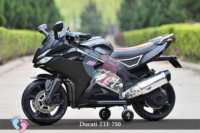 Xe máy điện trẻ em Ducati TTF 750