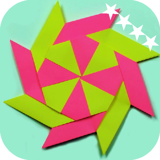 Origami Ninja Star Tutorial | 512x512