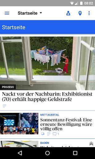 az Badener Tagblatt News