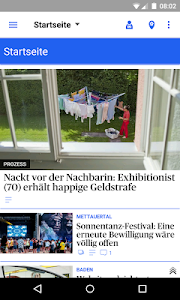 az Badener Tagblatt News screenshot 0