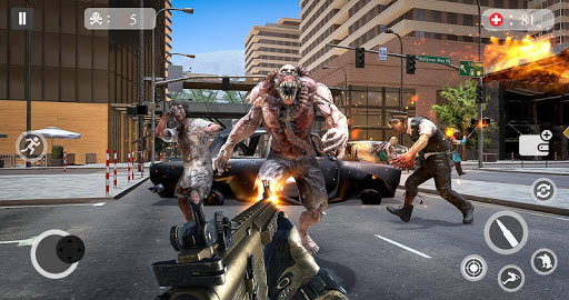 Zombie Attack Games 2019 - Zombie Crime City screenshots 9