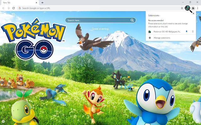 Pokemon GO HD Wallpapers New Tab
