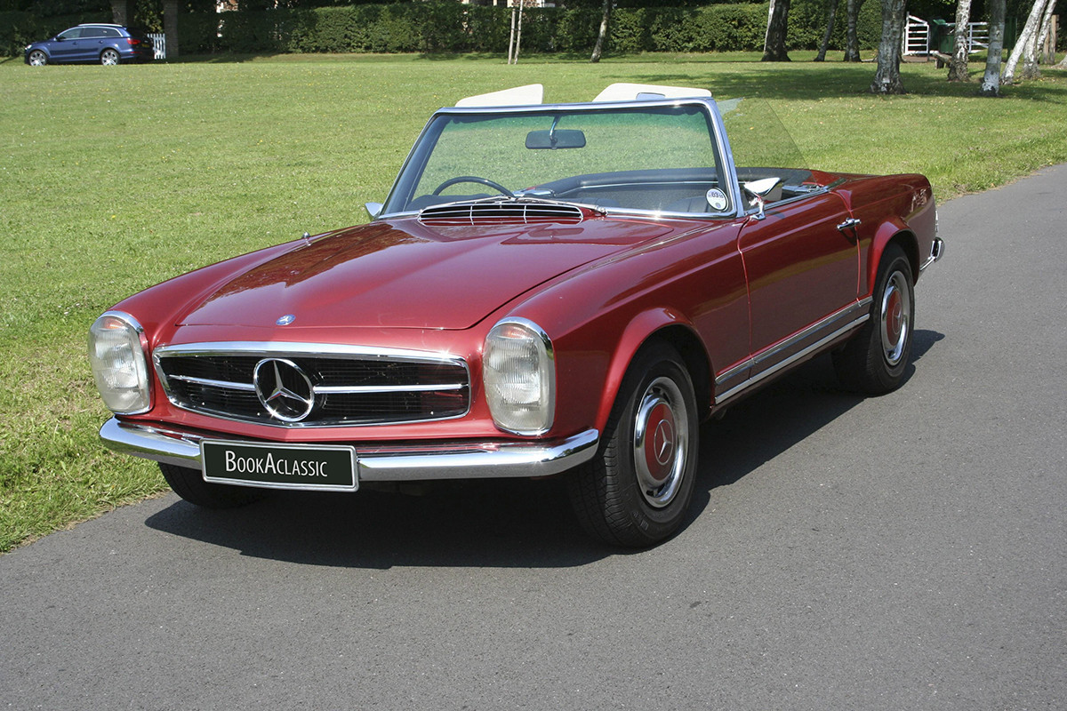 Mercedes-Benz 280 SL Pagoda Hire South London