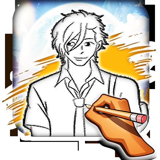 How to Draw Anime Boys 遊戲 App LOGO-硬是要APP