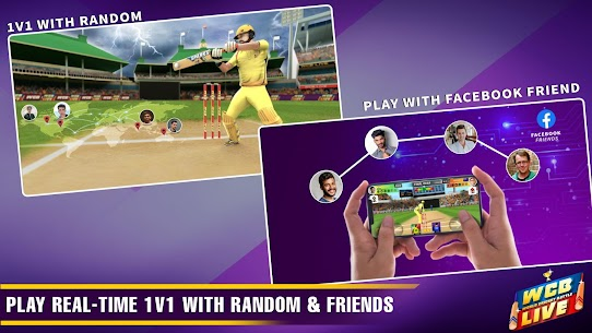 WCB LIVE Cricket Multiplayer:Play PvP Cricket Game 5