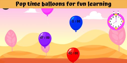 Telling Time Games For Kids - Learn To Tell Time 1.0 screenshots 2
