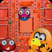 Modern Pac-Man Puzzle World – Pellets Eat Party