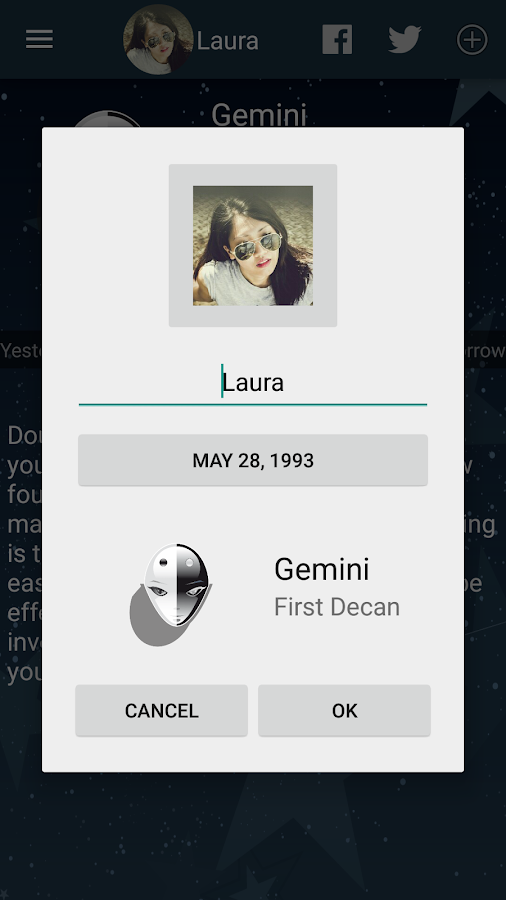 My Horoscope- screenshot