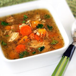 Gluten-Free Turkey Soup.