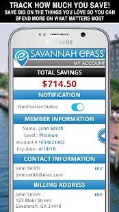 Savannah ePASS- screenshot thumbnail