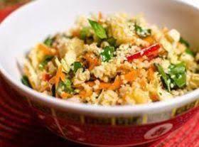 Millet Spring Roll Salad
