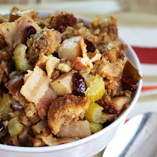 Bacon & Pear Slow Cooker Stuffing