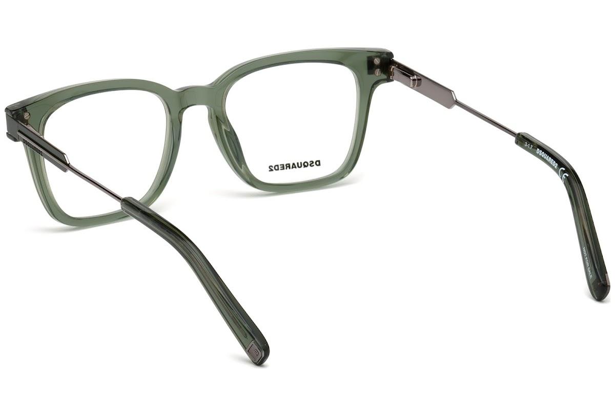 12ca978344 Buy Dsquared2 DQ5244 C49 096 (shiny dark green   ) Frames