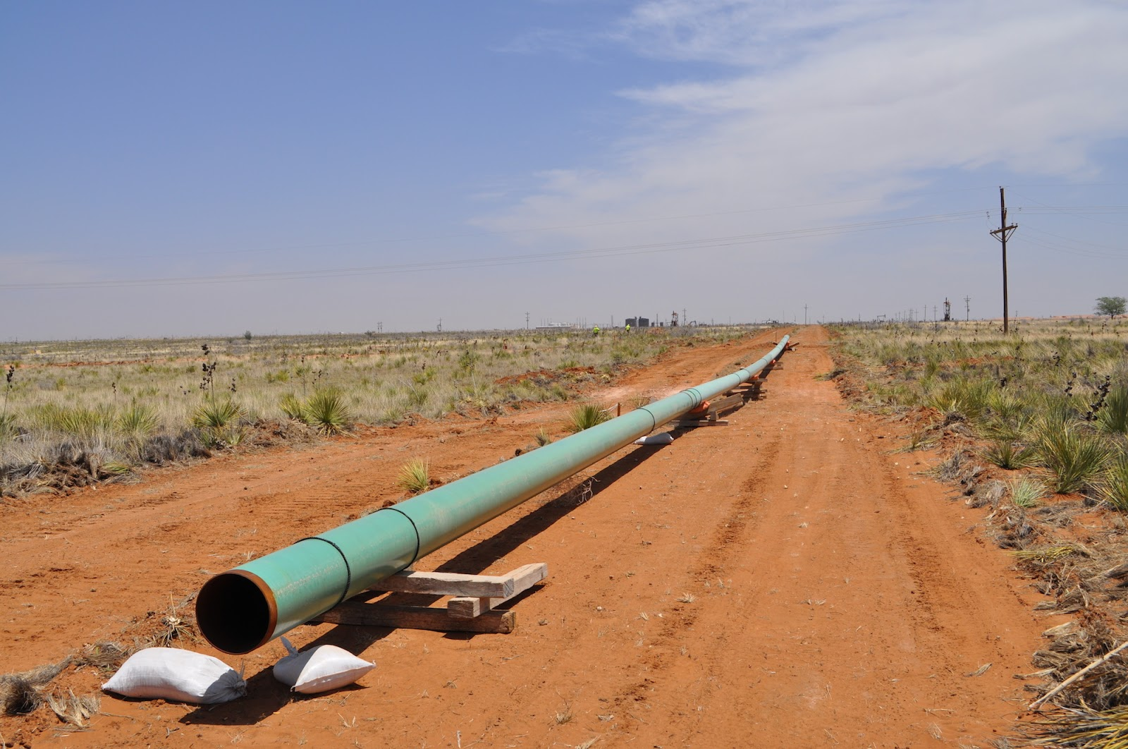 Mapping Permian Basin pipelines