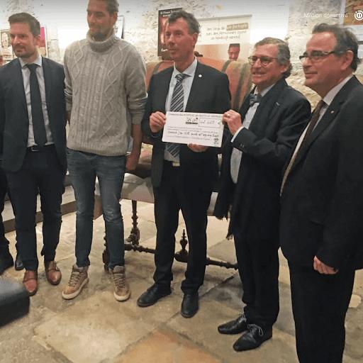 Record absolu pour la vente de la pièce de charité des vins de Nuits-Saint-Georges au bénéfice de L'Arche à Dijon
