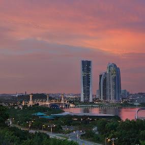 Friday evening by Danial Abdullah - City,  Street & Park  City Parks