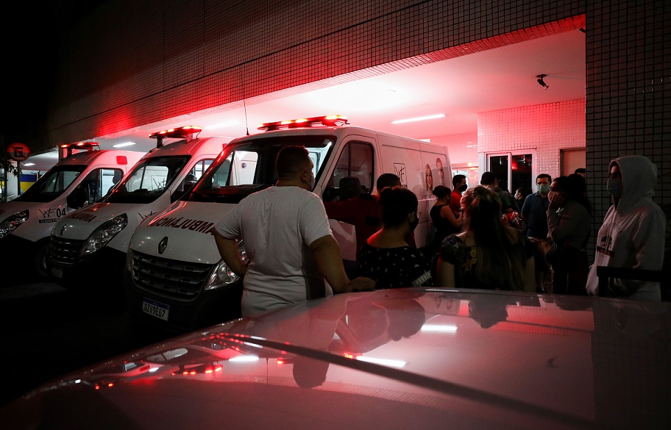 Hospitals in Brazil's Amazonas short of oxygen, UK bans Brazilian arrivals