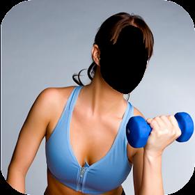 Women Fitness Photo Editor
