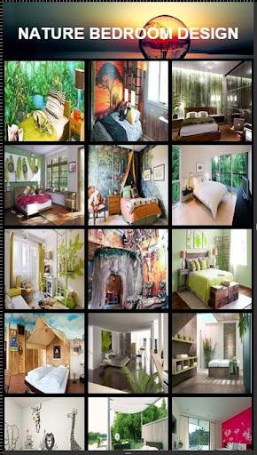 自然ベッドルームデザイン