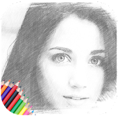 Pencil Sketch : Drawing Art Filter Photo Editor