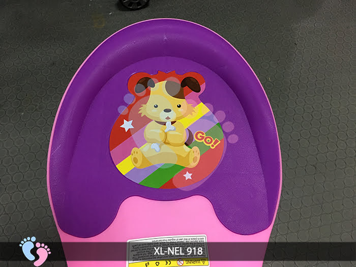 xe lắc tay trẻ em nel-918