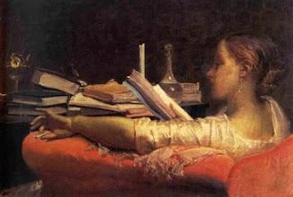 """Photo: Federico Faruffini, """"La lettrice"""" (1864)"""