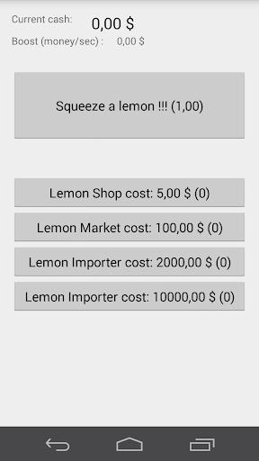 Lemon Clicker