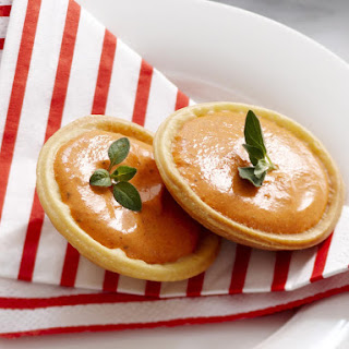 Roasted Red Pepper Tarts