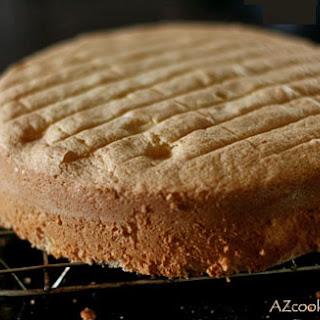 White Sponge Cake Recipes