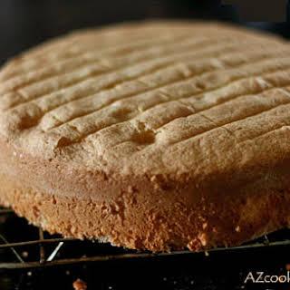 Classic Sponge Cake.