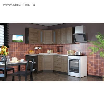 Кухонный гарнитур Кира оптима 1500*1800