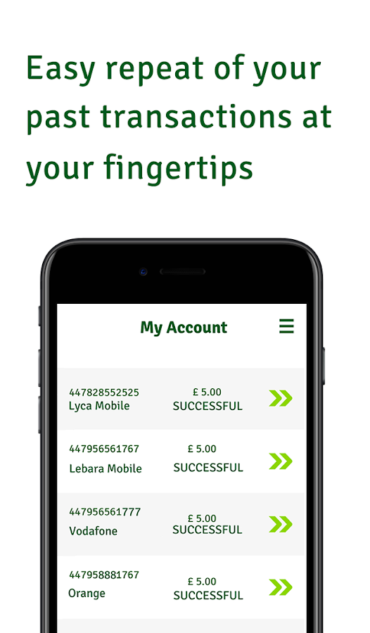 Kwikpay – Mobile Top Up- screenshot