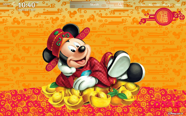 Mickey Mouse Wallpapers Theme New Tab