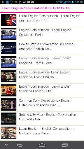 Learn English Conversation USA
