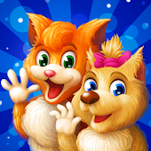 Cat & Dog Adventure - Story with Logic Games Free