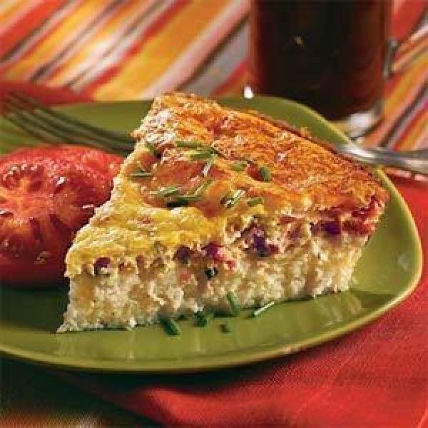 Breakfast Corn Flake Pie Recipe