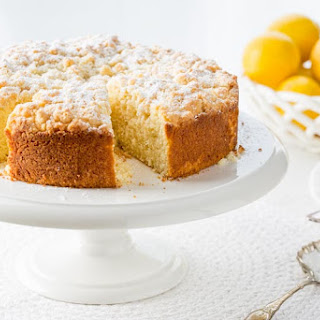 Lemon Crumble Breakfast Cake.