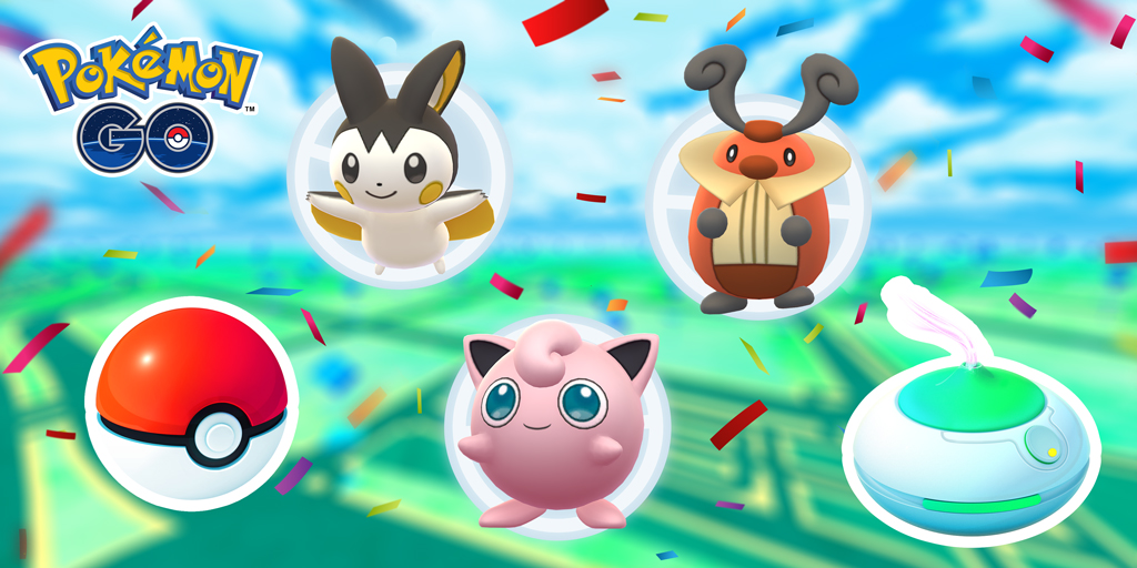 Comemore o Carnaval em casa com Pokémon GO!