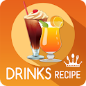 Drinks and Cocktails recipes icon