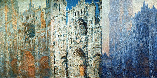 Руанский собор (Rouen Cathedral ) - кафедральный собор Руана - Серия полотен Клода Моне с видами Руанского собора