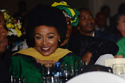 Winnie Madikizela-Mandela during her 80th birthday celebration at the Emperors Palace on September 26, 2016 in Johannesburg, South Africa.