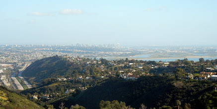 Photo: The view of San Diego downtown from Mount Soledad in La Jolla, CA