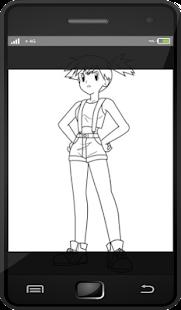 Naučte se kreslit lidský pokemon - náhled