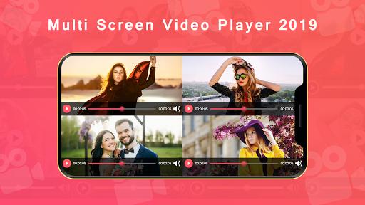 Multi Screen Video Player 2019 2.0 screenshots 1