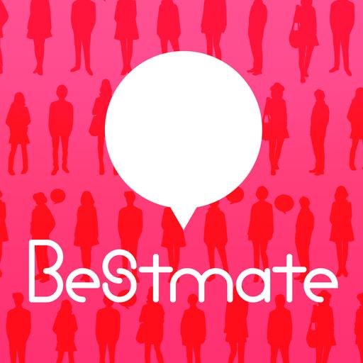 社交のBestmate™ - 사랑의 메시지・만남앱 LOGO-記事Game